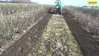 SAVA - Wielofunkcyjna maszyna do pielęgnacji sadów i plantacji z glebogryzarką