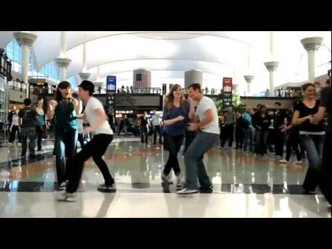 Denver Airport Swing Dance Flash Mob video