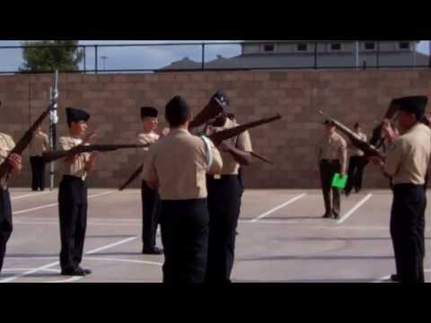 Orange Glen High School NJROTC Armed Drill Team: Exhibition routine
