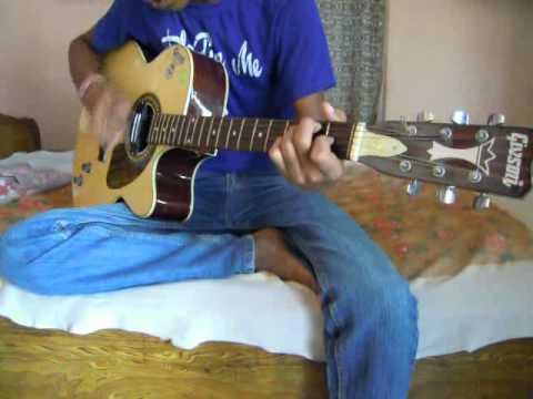 Gulabi Aankhen - Mohd. Rafi Guitar Cover .flv