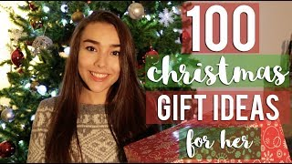100 CHRISTMAS GIFT IDEAS FOR HER- Girlfriend, Mom, Sister etc.