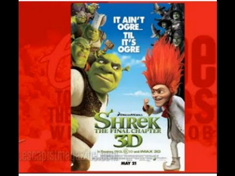 SHREK 4 FOR EVER AFTER (Escape to the Movies)