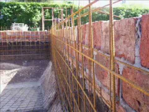 Video piscina en moreno youtube for Como construir piletas de natacion de material