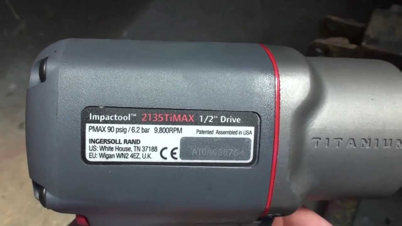 2135Timax Ingersoll Rand - Full Review - YouTube