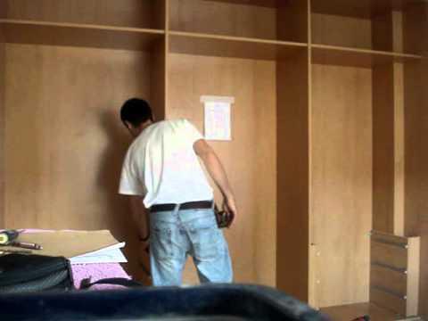 Montaje de armario empotrado wmv youtube - Como vestir un armario ...