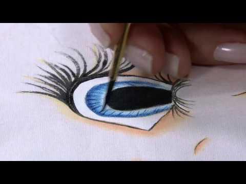 Mulher.com 04/07/2014 Bete Alcantra - Pintura tecido rosto de boneca Parte 2/2