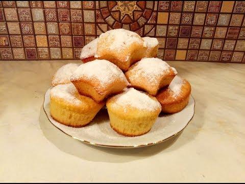 Рецепт кексов в формочках на скорую рукуы