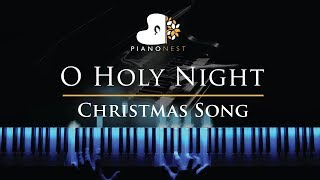 O Holy Night In F Christmas Song Piano Karaoke Sing Along