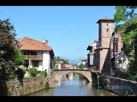 France Pays Basque la cité médiévale de Saint-jean-pied-de-Port