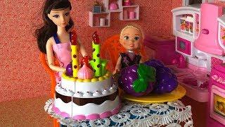 Búp bê bé Bông   Bé Bông tổ chức sinh nhật cho em búp bê Chibi   Trẻ Thơ TV