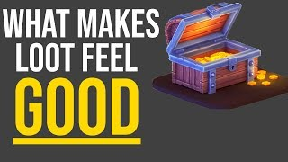 What Makes Loot Feel Good In Video Games: