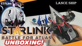 Starlink Battle for Atlas LANCE Ship Unboxing