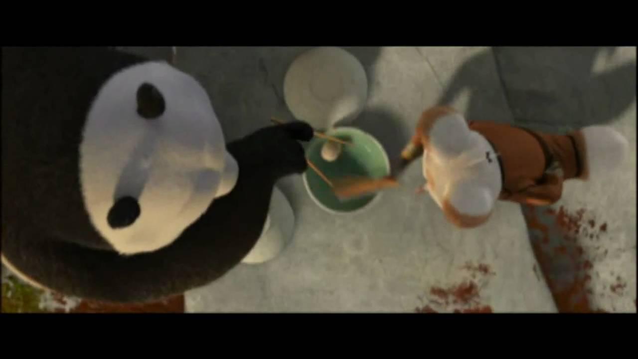 Kung Fu Panda Po Eating Cookies