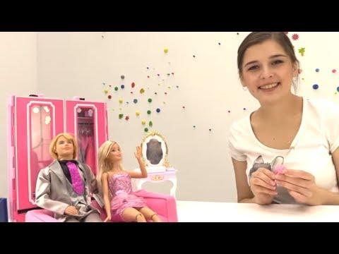Куклы: БАРБИ делает уборку. Видео для девочек. КЕН в гостях у Барби. Видео про кукол