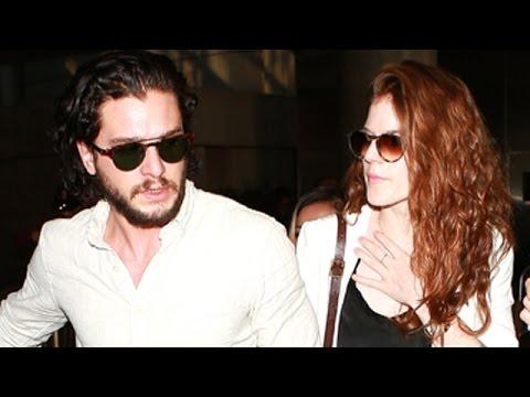 Game Of Thrones Stars Kit Harington, Sophie Turner And Rose Leslie Hit LA