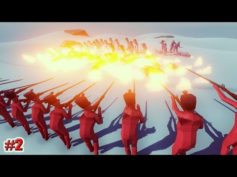 Totally Accurate Battle Simulator СМЕРТЕЛЬНАЯ БИТВА (2 серия)