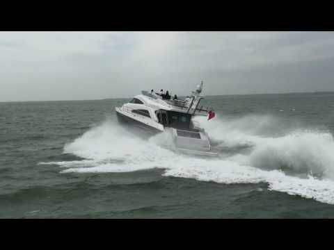 Fairline Squadron 65 from Motor Boat & Yachting