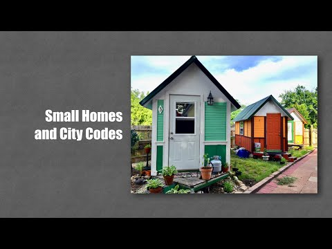 Small Homes and City Codes