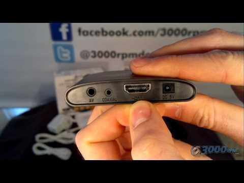 3000rpm.com unboxing Sumvision Cyclone Micro 3 MKV USB SD Media player HDMI 1080p