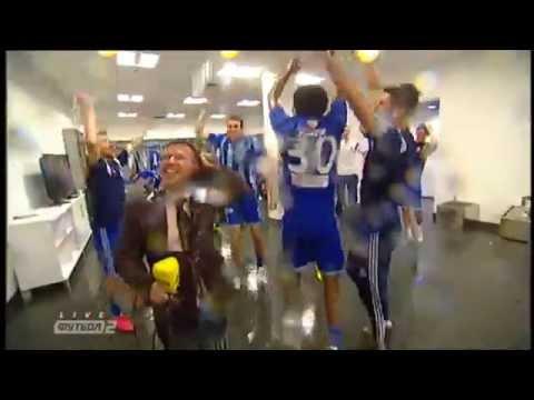 Сумасшедшее празднование Динамо после победы в Кубке Украины
