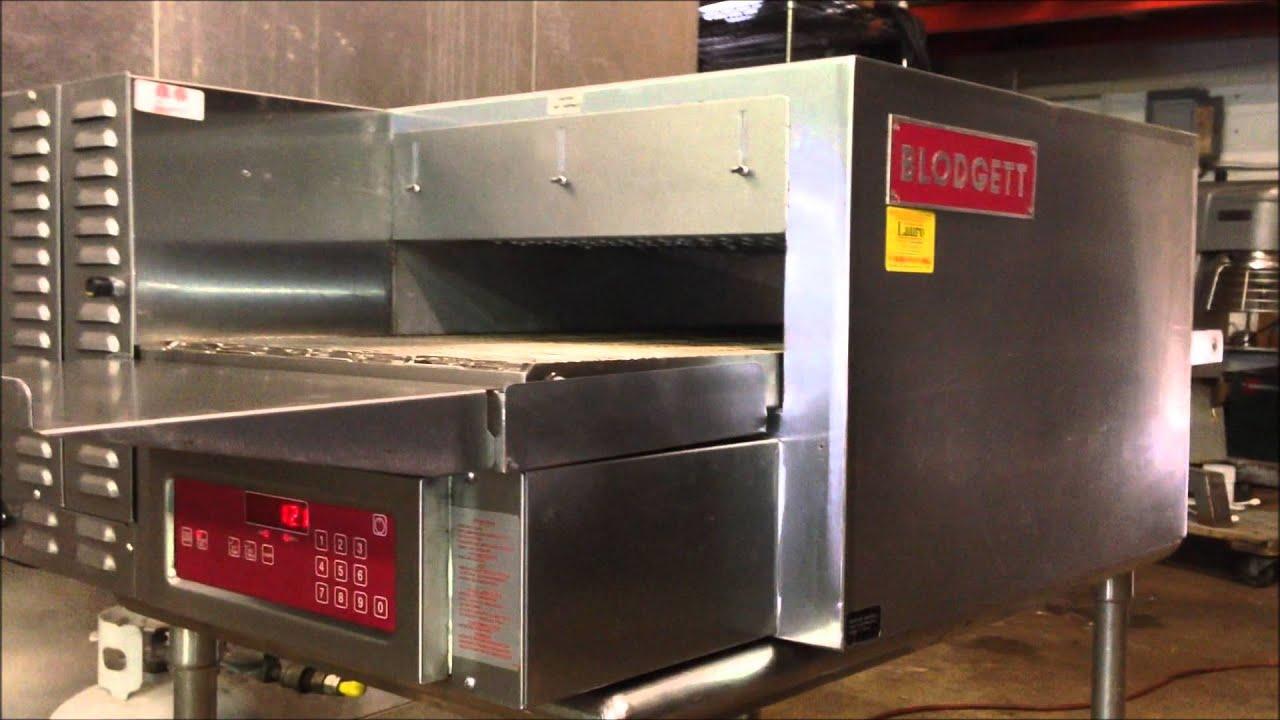 Blodgett MT1828G Countertop Gas Conveyor Oven For Sale - YouTube