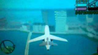 The2012djwess - GTA Vice City Stories - Riding the Airplane in Vice City.3gp