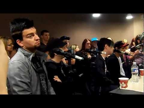 Marianas Trench at Q92 6.12.12