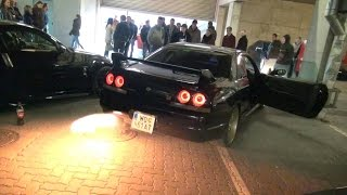 Fast And Furious 7 Premiere Car Meet - Supra, Skyline, Silvia and more