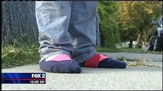 Boy has only pair of shoes stolen by armed robber