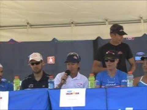Ironman Arizona 2008 Professional Press Conference 1