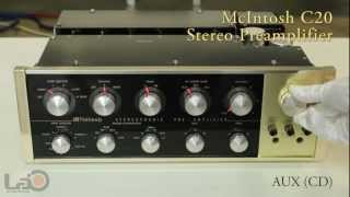 McIntosh C20 Stereo Preamplifier (AUX CD)