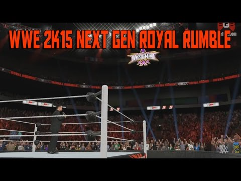 Wwe 2k15 (xbox One ps4 next Gen Gameplay) - Royal Rumble Part 1 video