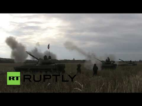Ukraine: See DPR fire self-propelled artillery shots