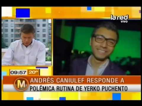 Andrés Caniulef responde a polémica rutina de Yerko Puchento