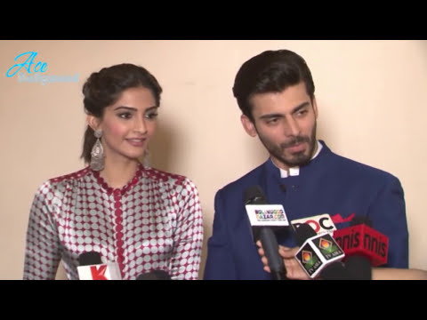 Sexy Sonam Kapoor and Fawad Khan at Entertainment ke Liye