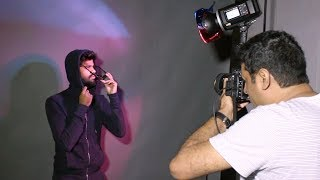 3 creative photography ideas with single light in studio setup