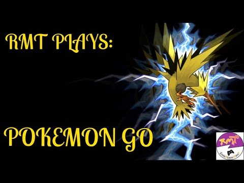 RMT PLAYS: POKÉMON GO- ZAPDOS CREATING STORMS & HATCHING A 2K EGG