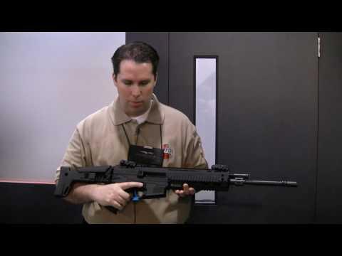 ShotShow 2010 Segment 1 (Bushmaster ACR and Umarex HK MP5 .22