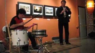 John Butcher/Gino Robair duo