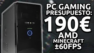 PC AMD NVIDIA 1TB POR 190€! MINECRAFT,LOL, GTA V SIN LAG!