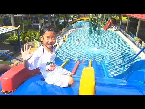 Kolam Renang Anak Pancuran Mas Purbayasa Water Park - Children's Pool Waterboom