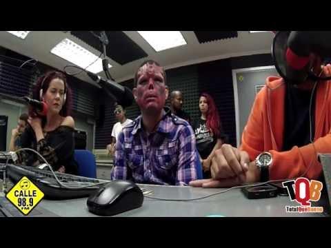 TQB ENTREVISTA A RED SKULL ART EN CALLE 98.9 FM