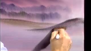 Bob Ross - Malerei grünen Tal - Malerei Video