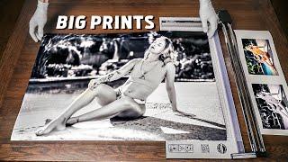 Big Portfolio Prints on a Canon ImagePROGRAF Pro-4000