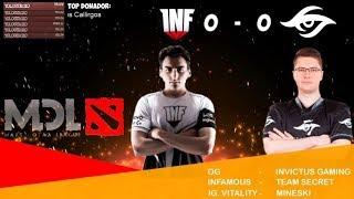 [ESP] Team Secret vs VGJ.Storm || Mars Dota League Major - Dia 3