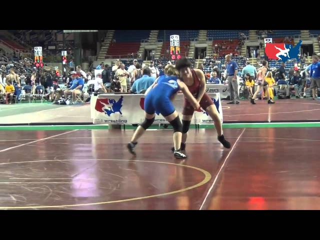 112 - Feanside (CA) dec. Mitchell (WA), 1-0, 4-0 at Women&#039;s Junior National Duals