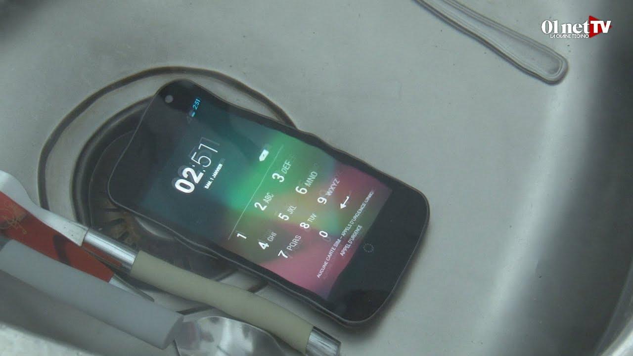Smartphone Tomb Dans Leau Que Faire Voici Les Gestes
