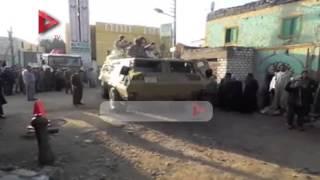 الجيش والشرطة يستعدان لتأمين حضور محلب لتقديم العزاء في شهداء ليبيا