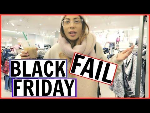 BLACK FRIDAY FAIL + VLOGMAS?!