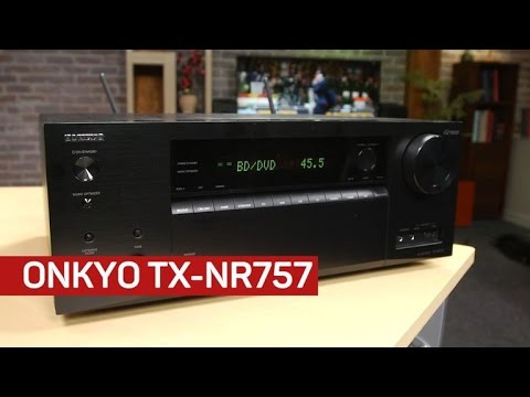 Onkyo's TX-NR757 receiver is a solid performer